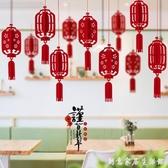 2020鼠年立體掛件新年元旦創意燈籠花朵裝飾吊墜商場店鋪裝飾 衣櫥秘密