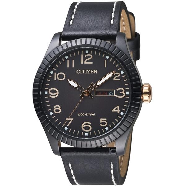 CITIZEN星辰GET'S復古時尚光動能限量腕錶  BM8538-10E