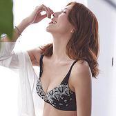 【蕾黛絲】扇扇心真水 B-C罩杯內衣(閃爍銀黑)
