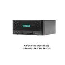 HPE ProLiant Microserver Plus Gen10 迷你雲端伺服器(P19752-371)【Intel Xeon E-2224 / 8GB / S100i (RAID 0.1.10.5)】