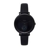 【Fossil】Jacqueline極簡黑色主義時尚摩登腕錶-極致黑/ES4490/台灣總代理公司貨享兩年保固