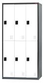 623-10 YFC-306K (一般鎖) (每格附吊衣桿×1/鏡子×1)