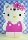 【震撼精品百貨】Hello Kitty 凱蒂貓~HELLO KITTY 三星S3殼-粉點(站)
