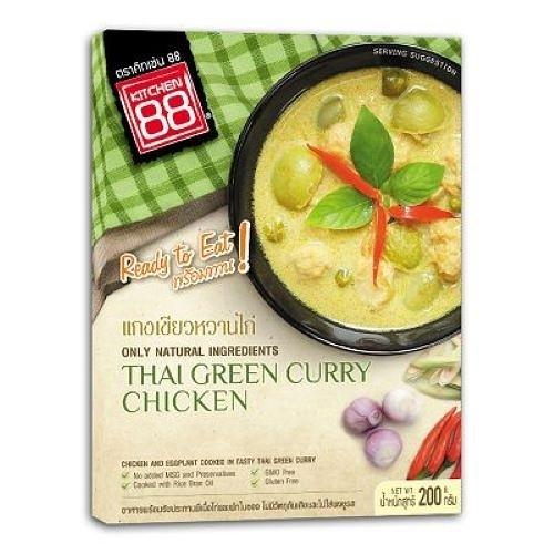 Kitchen 88泰式綠咖哩雞即食包 Thai Green Curry with Chicken 200g