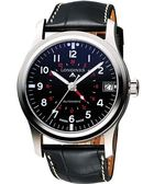 LONGINES 浪琴 Heritage Avigation GMT 機械腕錶/手錶-黑 L28314532
