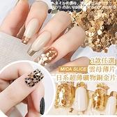 日系超薄礦物銅金片 不規則云母片珍珠色系美甲貝殼片 高亮澤 鮑魚片 美甲飾品 NailsMall