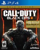 PS4 決勝時刻:黑色行動 3 黃金版(美版代購)