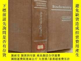 二手書博民逛書店Biochemistry罕見生物化學 英文版精裝Y302069