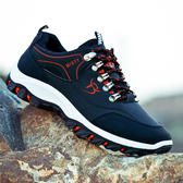 登山鞋春季時尚男鞋運動休閒鞋跑步鞋男士防水潮鞋旅遊鞋登山鞋 童趣屋