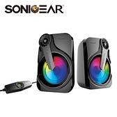【SONICGEAR】TITAN 2 炫彩USB 2.0多媒體音箱
