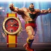 SEIKO 精工 5 Sports x 快打旋風 桑吉爾夫 聯名限量機械錶(SRPF24K1)-42.5mm 4R36-08S0Y(贈保護貼+帆布帶)