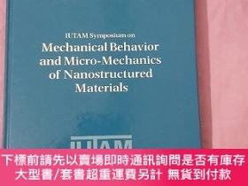 二手書博民逛書店IUTAM罕見Symposium on Mechanical Behavior and Micro-Mechani