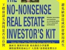 二手書博民逛書店The罕見No-nonsense Real Estate Investor s KitY256260 Thom