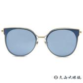 HELEN KELLER 林志玲代言 H8707 (金) 貓眼 水銀 偏光太陽眼鏡 久必大眼鏡