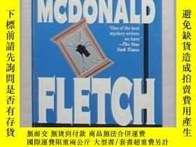 二手書博民逛書店英文原版罕見Fletch Reflected by Gregor