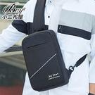 單肩胸包 大容量防潑水安全反光條耐磨隨身包【NQA5193】