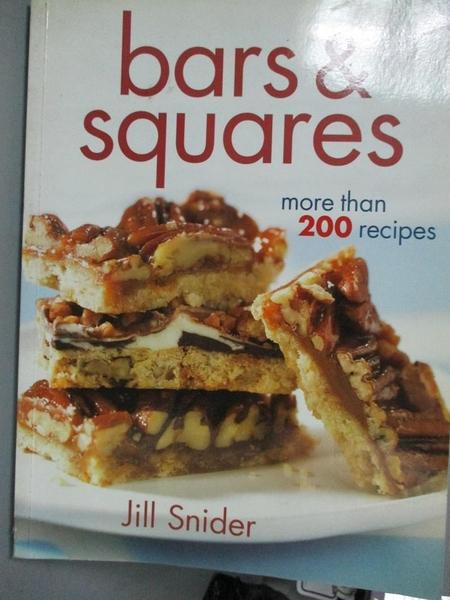 【書寶二手書T3/餐飲_XDH】Bars & Squares: More Than 200 Recipes_Sn