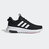 Adidas CF Racer TR [EE8131] 女鞋 運動 休閒 訓練 健身 輕量 舒適 緩震 襪套 愛迪達 黑