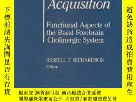 二手書博民逛書店Activation罕見to Acquisition: Func