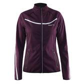 【速捷戶外】瑞典Craft 1904462 女Soft shell 防風保暖外套-(深紫), 登山,滑雪 , 夜跑,旅遊