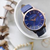 RELAX TIME Classic 經典系列手錶-玫x藍/36mm RT-88-3L