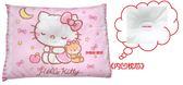 日本三麗鷗正版授權HELLO KITTY凱蒂貓熊寶貝寶寶枕(初生枕/塑形枕)~新生兒適用~K7512