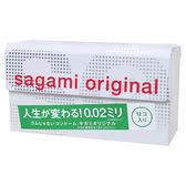 QUEEN 日本相模Sagami002超激薄衛生套12入 保險套避孕套 女王時尚精品 情趣用品