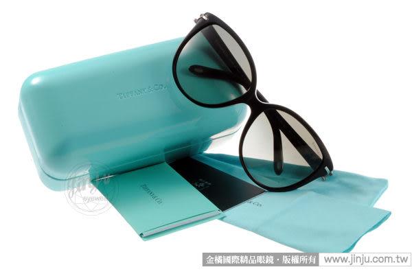 Tiffany&CO.太陽眼鏡 TF4064BA 80013C (造型黑) 人氣限量鎖鑰款 # 金橘眼鏡