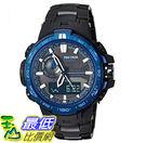 [美國直購] 手錶 Casio Mens Pro Trek Quartz Stainless Steel and Titanium Sport Watch (Model: PRW-6000SYT-1CR)