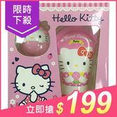 Hello Kitty 護手霜+護唇球禮盒(2件入)【小三美日】原價$259