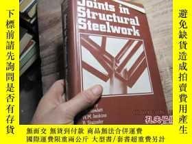 二手書博民逛書店joints罕見in structural steelwork