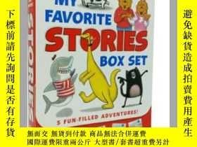 二手書博民逛書店我喜愛的故事5本套裝罕見英文原版 I Can Read 第一階段