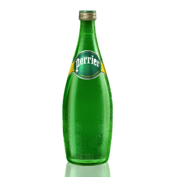 【沛綠雅Perrier】氣泡天然礦泉水(750ml) x 12瓶 (箱購)