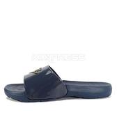 Pony Park [62U1SL63DB] 男鞋 運動 涼鞋 拖鞋 夏天 海邊 雨天 防水 深藍 金