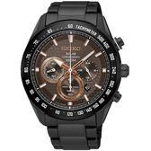 SEIKO 精工錶 Criteria 太陽能 藍寶石水晶鏡面 計時碼錶 SSC587P1 熱賣中!