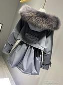 2019冬季新款派克服女加厚韓版大毛領收腰羽絨服女短款小個子爆款 布衣潮人YJT