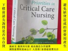 二手書博民逛書店Priorities罕見in Critical Care Nur