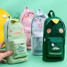 快速出貨大容量鉛筆袋韓國少女心筆袋簡約小清新初中學生用帆布