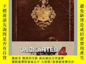 二手書博民逛書店Uncharted罕見Hardcover Ruled JournalY410016 . Naughty Dog