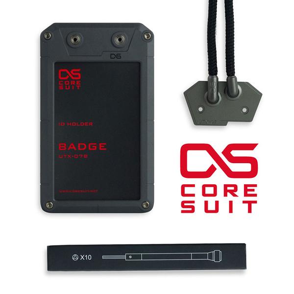 CORESUIT《擴充配件》風格證件盒-Badge-黑