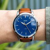 FOSSIL 極簡紳士風範時尚腕錶 FS5304 熱賣中!