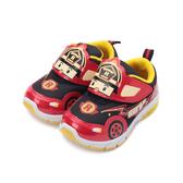 救援小英雄 ROY羅伊電燈運動鞋 紅 POKX91222 中童鞋 鞋全家福