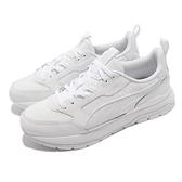 Puma 休閒鞋 R78 Trek Lth 白 全白 男鞋 女鞋 復古 小白鞋 運動鞋 【ACS】 383202-02