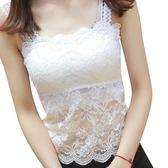 夏季女士韓版打底衫百搭短款小背心大碼內搭上衣抹胸薄款蕾絲吊帶 潮流衣舍