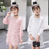 女童連身裙兒童公主裙子女寶寶秋季時髦長裙