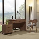 書桌 4尺 電腦桌 辦公桌 工作桌 淺胡桃 工業風書桌 YD米恩居家生活