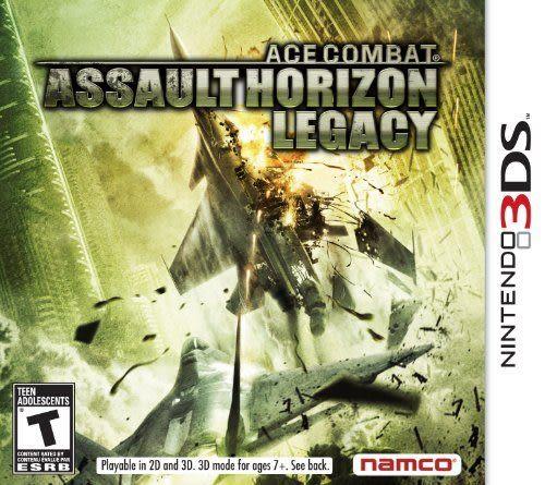 3DS Ace Combat Assault Horizon Legacy 空戰奇兵 3D 交叉熱鬥(美版代購)