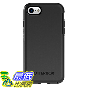 [美國直購] 手機殼 OtterBox SYMMETRY SERIES Case for iPhone 7(ONLY)-Frustration Free Packaging-BLACK