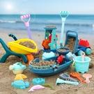 兒童沙灘玩具寶寶海邊挖沙玩沙挖土工具戲水大號套裝組合水桶鏟子 小時光生活館