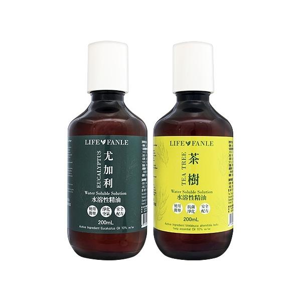 Life Fanle 水溶性 尤加利/茶樹 精油(200ml) 款式可選【小三美日】原價$259